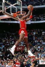 Michael Jordan MJ Player Basketball NBA Sport Print Poster Wall Art Picture A4 +
