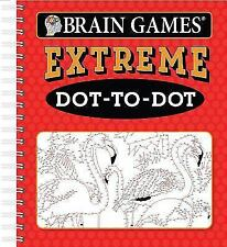 Brain Games Extreme Dot to Dot (Spiral Bound, Comb or Coil)