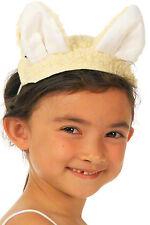 Lamb Ears & Tail Kids Sheep Fancy Dress Nativity Play Animal Christmas Costume