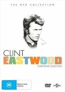 CLINT EASTWOOD 4 Movie DVD BOX SET - BRAND NEW & SEALED - FREE POST