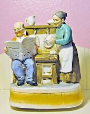 """Vintage Sankyo Music Box Seniors In Kitchen Plays """"No Place Like Home"""""""
