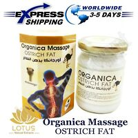Lotus Organica Massage Natural Ostrich Fat Ointment Knee Joints Bone Pain 145 gm