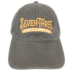 Seven Three Distilling Co Beer Cap Spirits Sense Place Logo Baseball Trucker Hat