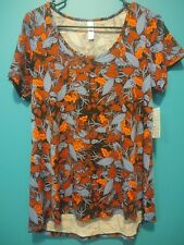 LuLaRoe Women's Classic t Shirt NWT Size Small (S) Floral Pattern