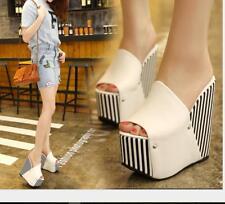 Scarpe  Da Donna  Pantofole  Zeppa Tacco Alto  DAIYAER 3516