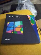 MICROSOFT Windows 8 PRO DVD versione 32 & 64