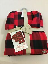 New Disney store Mickey Mouse Plaid Men pajama set Christmas Holiday Men