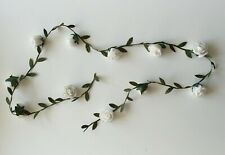 Rose Flower Hair Spray Head Band Headdress Headpiece Boho Wedding Festival