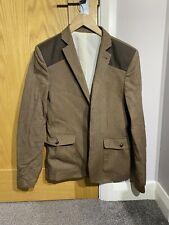 TOPMAN Brown Formal Blazer, UK 38, Size Small, Smart wear, Good Condition