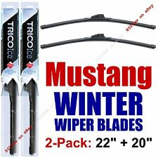 2005+ Ford Mustang WINTER Wipers 2-Pack Premium Snow Ice Cold 35220/35200