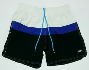 Speedo Mens Swim Shorts Approx. 75cm Waist Beach Summer Swimming Water