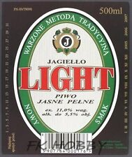 Poland Brewery Pokrówka Light Beer Label Bieretikett Etiqueta Cerveza pk5.1