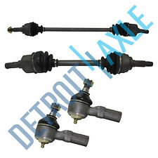 Front Left & Right 92-03 FORD Escort Drive Axle Shaft AUTO TRANS+ Outer Tie Rods