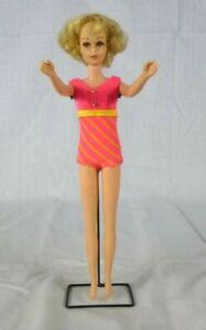 Vtg 1969 Mattel Francie Doll #1170 Blonde Flip Hairdo TNT in OSS Barbie Cousin