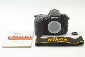 [MINT] Nikon F100 35mm SLR Film Camera Black Body w/ Strap From JAPAN