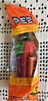Pez Witch Dispenser New Sealed Halloween 1971 with candy