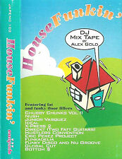 Various House Funkin' DJ Mix By Alex Gold CASSETTE ALBUM Electronic House Mixed