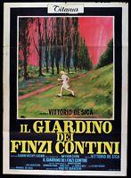 Poster Die Gärten Der Finzi Contini De Sica Sanda Capolicchio Berger M285
