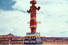 1963 COLORFUL MARKER ON ROUTE 66 GALLUP, NM, INDIAN CAPITAL Ceremonial Aug 11-14