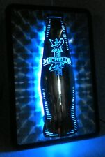 Michelob Light Beer Sign Stainless Steel Neon Sign 2000 Works! Man Cave/ Bar