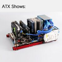 PC Test Bench Case Matx ATX ITX Motherboard Aluminum Bracket Frame Graphics Card