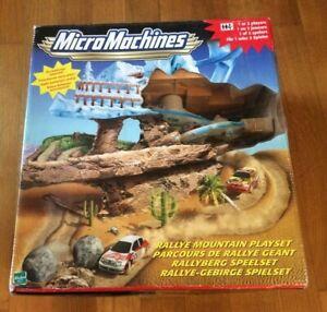 Micro Machines rallye mountain playset new unopened Hasbro