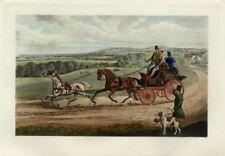 Aquatint Equestrian Original Art Prints