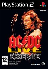 Ac/Dc Live Rock Band Track Pack PS2 Playstation 2 Game Complete