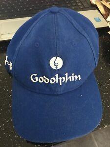GODOLPHIN, DUBAI WORLD CUP BASEBALL CAP . NEVER USED. HARD TO FIND