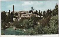 VINTAGE GOLD MINING IN VICTORIA - A BENDIGO GOLD MINE Official Picture Postcard
