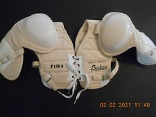 Rare Htf Vintage Nos Baker Hockey shoulder pads from Canada New Old Stock
