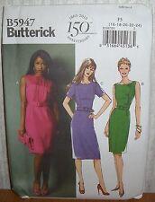 Womens/Misses & Petite Dresses Belt Sewing Pattern/Butterick B5947/SZ 16-24/UCN