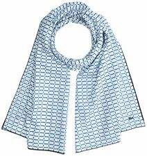 Lacoste Re2632 Foulard Femme Bleu (blanc/thermal-marine) Taille Unique (taill