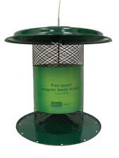 Birds Choice Xcd72 5 Quart Magnet Mesh Sunflower Feeder - Green