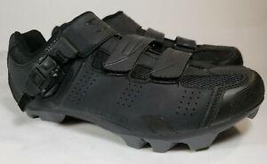 Serfas Men's Switchback Mountain Bike Shoes Black Size 42 us 8.5 cycling