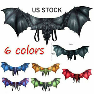 Halloween Vampire Bat Wings Cosplay Theme Party Cosplay Costumes Adult NEW