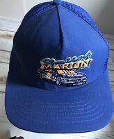 Vintage STERLING MARLIN #22 Patch Snapback Mesh Trucker HAT CAP Rare NASCAR