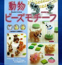 Beads Animal Motif - Bog..etc. /Japanese Beads Craft Pattern Book
