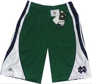 Notre Dame Fighting Irish Green Mens Flash Shorts CLOSEOUT $35