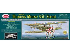 Guillows Thomas Morse S4C Scout 1:12 Balsa Model Kit WWI Fighter -European Stock