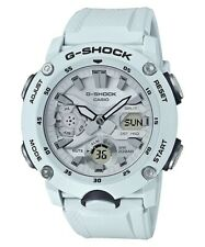Casio G-Shock * GA2000S-7A Carbon Core Guard White Anadigi Watch for Men