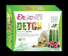 3X De Tune's Detox Tour de Fontenay's Helping detoxification Natural 10 Sachets