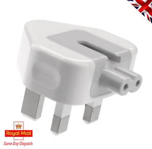 """Universal Power Plug For Macbook Air 11"""" Pro 13 MagSafe1  Magsafe2 UK 3A 3 pin"""