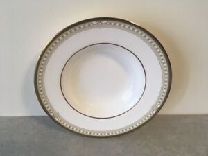 """Royal Doulton Lichfield 8"""" Rimmed Soup Bowl - Made in England"""