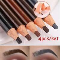 4 Pcs Microblading Eyebrow Peel-off Pencil Eye Brow Makeup Waterproof Cosmetics