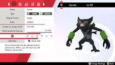 Zarude Pokemon Sword and Shield 6IVs Fast Delivery