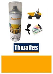 Thwaites Dump Truck Yellow Paint High Endurance Enamel Paint 400ml Aerosol