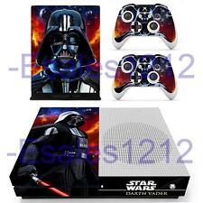 Xbox One S Slim Console Skin Star Wars Darth Vader Vinyl Decal Sticker