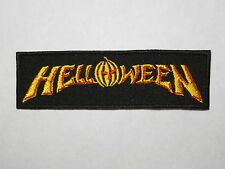 HELLOWEEN logo embroidered NEW patch heavy metal