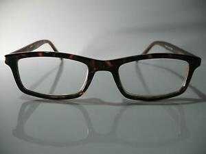 Foster Grant John Brown Tortoise Rectangular Mens Reading Glasses